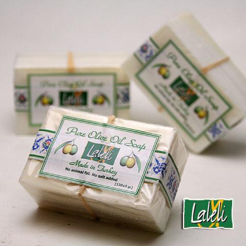 ピュアオリーブソープ120g(オリーブ石鹸)/ラーレリ社 無香料3個セット